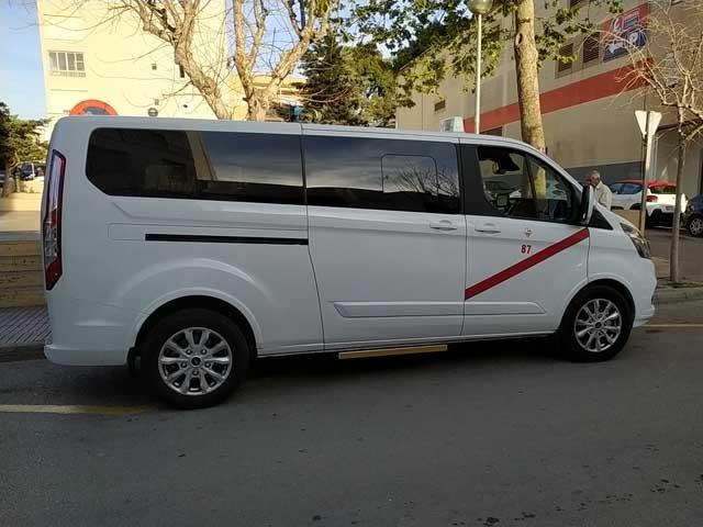 Taxi llucmajor 7 plazas